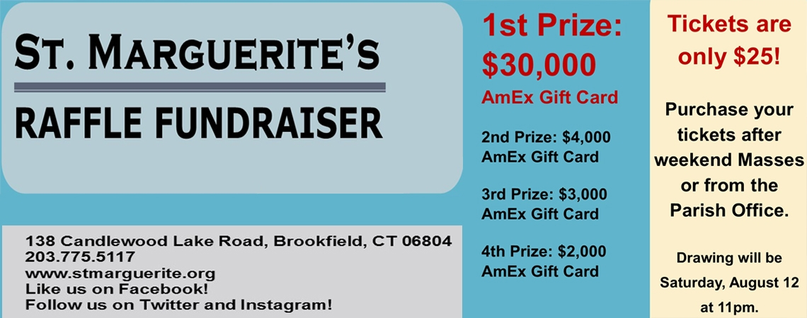 Get Your Tickets Today for Our Parish Raffle Fundraiser!